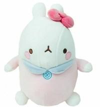 "Molang Baby Stuffed Animal Rabbit Plush Toy Soft Mochi Fluffy 9.8"" (Pink) image 1"