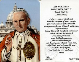 His Holiness Pope John Paul II Karol Wojtyla - EB175 - Wallet Style Card - $2.79