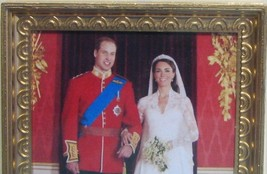 DOLLHOUSE Royal Wedding Formal Portrait Jacquelines 9969 Wills Kate Miniature image 1