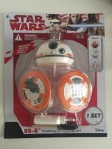 New Star Wars BB-8 Pumpkin Push-Ins Fall Decor Disney Gemmy Halloween - $8.59