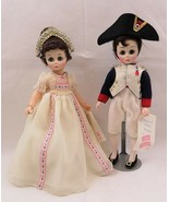 Madame Alexander Napoleon & Josephine 1330 & 1335 Portraits of History Series - $50.00