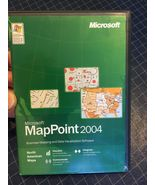 Microsoft MapPoint 2004 Business Mapping and Data Visualization Software - $29.99