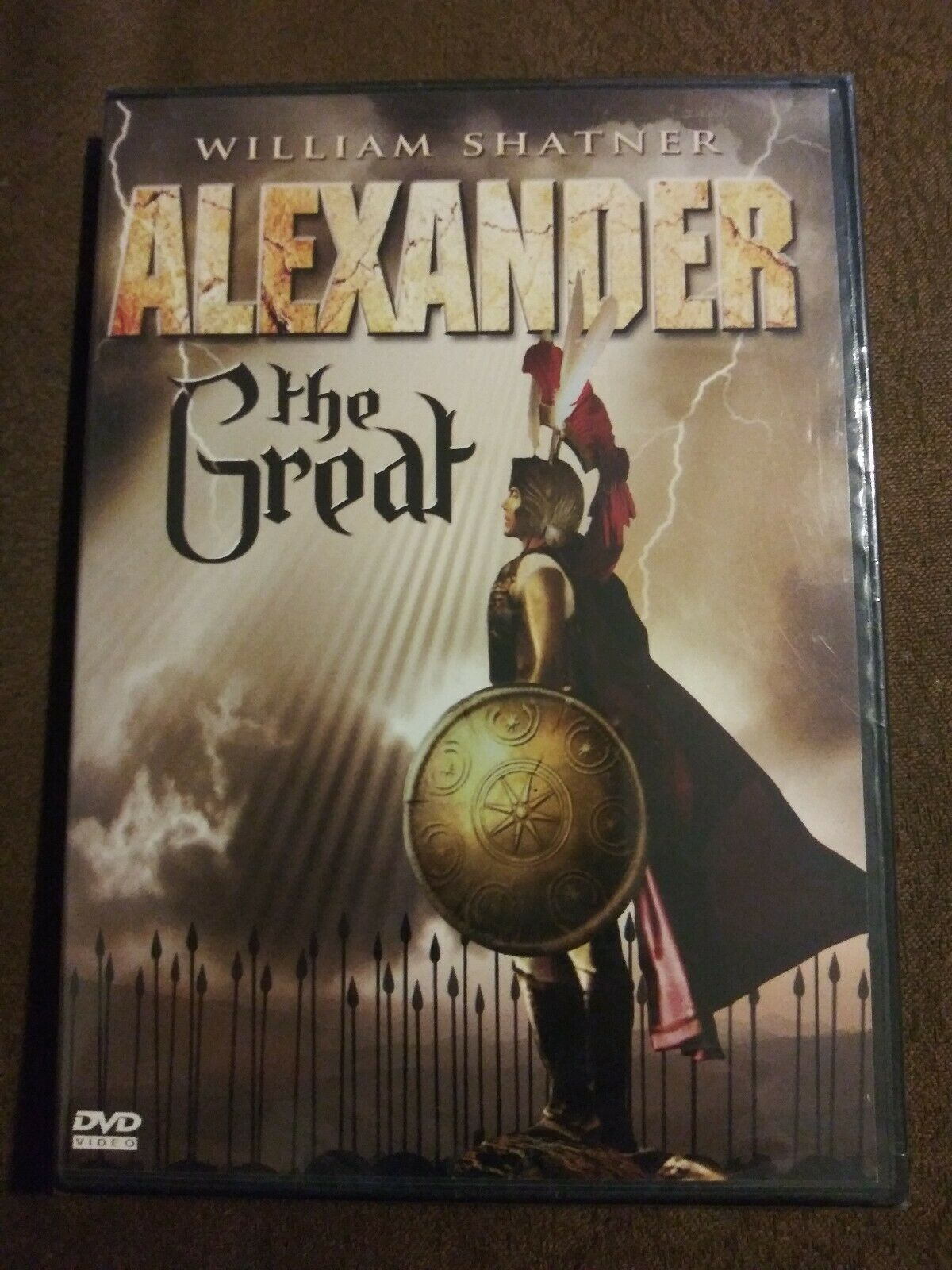 Primary image for RARE Alexander the Great 1968 William Shatner Adam West 90 min. DVD 2011 NIP
