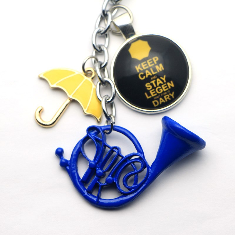 20pc a lot HIMYM How I Met Your Mother Yellow Umbrella mother Blue French Horn k