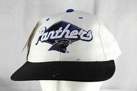 Carolina Panthers White/Black NFL Baseball Cap Snapback - $23.99