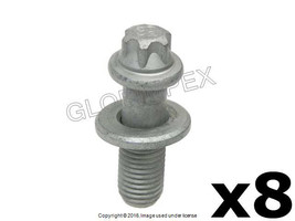 BMW X5 X6 (2007-2015) Bolt for Wheel Hub / Bearing Rear Left and Right (8) - $58.85