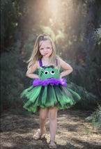 Frankenstein Tutu Dress, Girls Frankenstein Tutu, Halloween Pageant Tutu - $40.00+