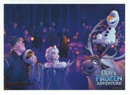 Olaf's Frozen Adventure Lithograph Disney Movie Club Exclusive NEW - $10.15