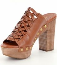 New Michael Kors Women Westley Studs Platform Mules Variety Color&Sizes image 11