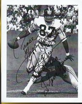 ROY JEFFERSON AUTOGRAPHED 8 X 10 PAPER PHOTO PITTSBURGH STEELERS INSCRIBED - £7.54 GBP