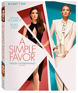 A Simple Favor [Blu-ray + DVD]  - $11.95