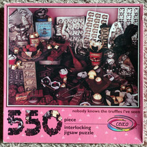 Nobody Knows the Truffles I've Seen Ceaco Jigsaw Puzzle 550 Pieces Compl... - $8.50
