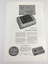 Whitmans Fussy Chocolates Halloween Vtg 1926 Print Ad Advertising Art - $9.89