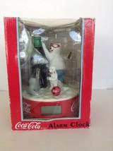 1999 Coca Cola Alarm Clock Featuring Polar Bear and Seal                ... - $19.30