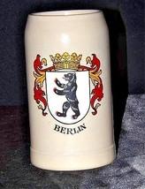 Berlin Ale MugWest Germany AA18-1264 Vintage Stein image 1