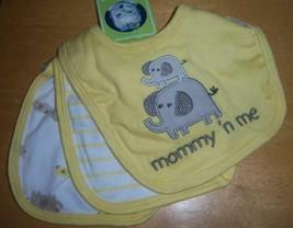 Gerber 3 Pack Unisex 100% cotton Baby Bibs - $15.97