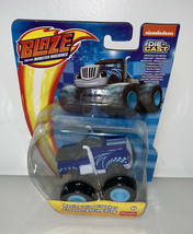 Blaze And The Monster Machines Racing Flag Crusher Die Cast Toy Vehicle NEW - $14.99