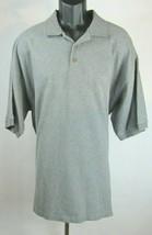 Tommy Bahama Mens Polo Short Sleeve Gray Shirt Size XL J5P - $17.82