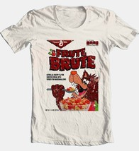 Fruit Brute Box T-shirt monster cereal Boo-Berry retro 80's cotton beige tee image 2