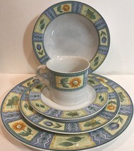 """Studio Nova """"Spring Parade"""" 5 Piece Place Setting For 4 HG27 Oven To Tab... - $197.01"""