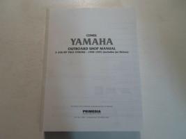 1990 91 92 93 94 1995 yamaha 2-250 HP 2 stroke service shop manual missing - $44.37