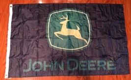 John Deere Tractor 3' X 5' Polyester Flag Banner Man Cave Bar Shop NEW - $16.13