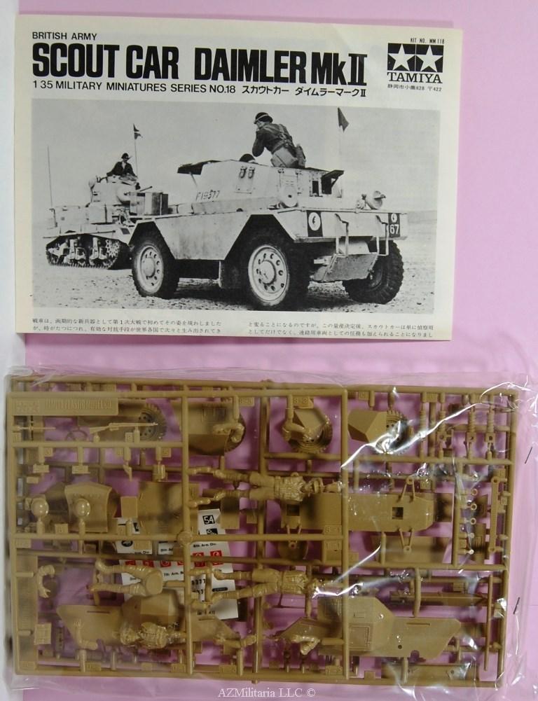 1/35 Scout Car Daimler Mk II Kit No MM118 Series No. 18
