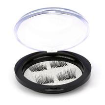 Magnetic False Eyelashes Magnet Ttone Box Crystal Box Round Black Storag... - ₨255.07 INR+