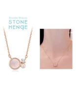 StoneHenge Stone Henge Silver Necklace SC1163 NWT - $69.00