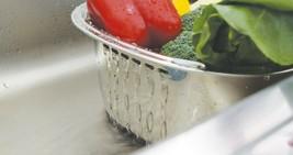 Characin Stainless Steel Dishpan Basin Dish Washing Bowl Tub (Rounded Rectangle) image 2