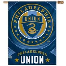 """SOCCER Philadelphia Union Vertical Flag, 27"""" x 37"""" - $32.16"""
