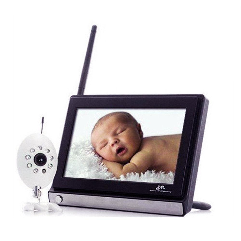 2.4G Wireless Baby Monitor  Night Vision Wireless Camera Set - $150.99