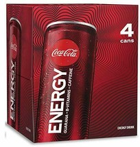 Coca-Cola Energy Drink 12 oz Cans (Pack Of 4) - $19.75