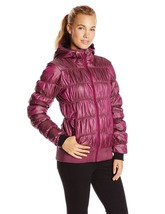 Columbia Sportswear Chelsea Station Dark Raspberry Pink Puffer Jacket XL NEW - $104.99