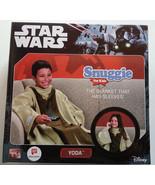 Star Wars Yoda Snuggie Super Soft Kids Blanket Comforter Beige Tan Brown... - $15.82