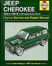 Haynes Jeep Cherokee Service and Repair Manual by A. K. Legg, Bob Henderson - $13.97