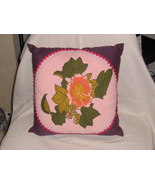Decorative Floral Pillow - $15.00