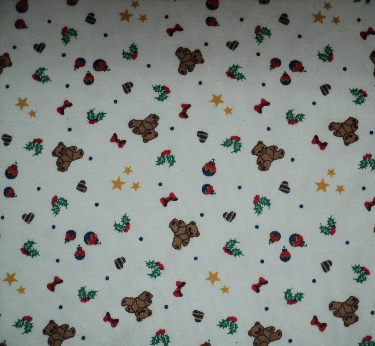 Ugly Christmas Shirt for Sweater Bears Ornament Star Size Medium 43 Chest Unisex image 3