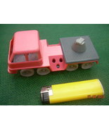 VINTAGE RUSSIAN SOVIET USSR  FIRE TRUCK TOY PLASTIC  MISSING PARTS - $18.11