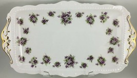 "Royal Albert Sweet Violets Sandwich tray 11 "" - $30.00"