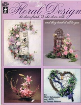 Floral Design He Does Fresh and She Does Silk Floral Arrangement Book - $10.95