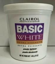 CLAIROL Professional Basic White Extra Strength Powder Lightener 1lb / 454g  - $21.46