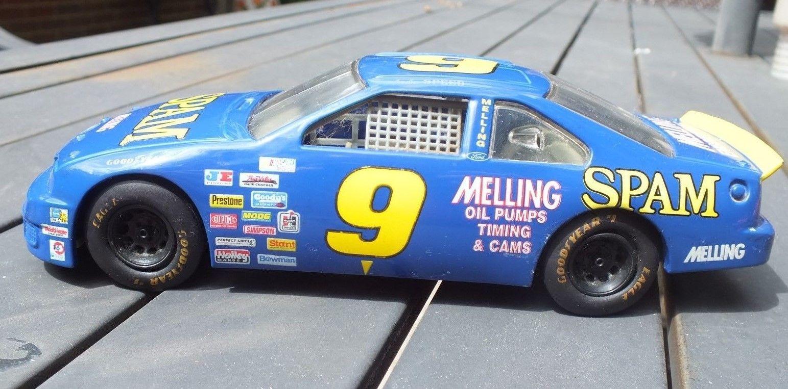lake speed  9 spam 1995 nascar ford thunderbird 1  24 diecast race car