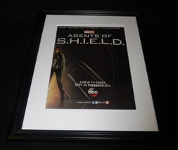 Agents of SHIELD 2013 Premiere ABC Framed 11x14 ORIGINAL Advertisement M... - $29.09