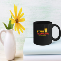 Recycling Coffee Mugs Great Recycled Gifts Earth Day 2018 - $15.95