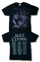 """ALICE COOPER - 2008 """"ALONG CAME A SPIDER"""" CONCERT TOUR T-SHIRT - SIZE ME... - $14.16"""