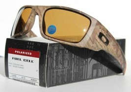 Oakley Fuel Cell POLARIZED Sunglasses OO9096-D9 Woodland Camo Bronze Lenses - $108.89