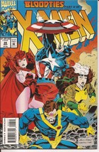 Marvel X-Men #26 (Nov 1993) BloodTies Part II of V Captain America Cyclops - $3.95