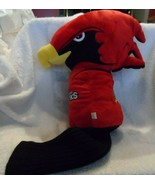 La Roche College Red Hawks golf club head cover with sock style bottom - $25.00