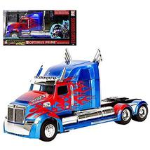 Optimus Prime Transformer Hollywood Rides Truck 1:32 Scale - $24.74